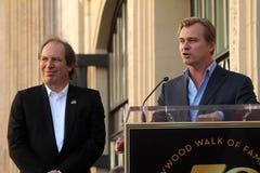 Hans Zimmer, Christopher Nolan Photographie stock libre de droits