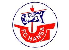 Hansa Rostock Logo royalty illustrazione gratis