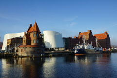 Hanse-Stadt lizenzfreie stockfotografie