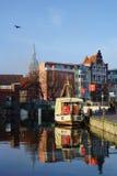 Hanse-Stadt stockfotos
