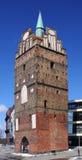Старый строб города Ростока, Германии стоковые фото