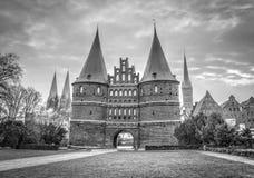 Hanseatic город Lübeck Стоковые Фотографии RF