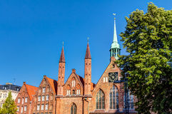 Hanseatic City of Lubeck Royalty Free Stock Image