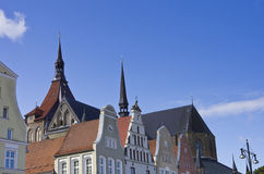 Hanseatic City of Rostock, Eastern Germany Stock Images