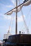 Hanseatic cog Stock Image