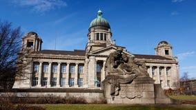 Hanseatic Höchstes Gericht von Hamburg lizenzfreie stockbilder