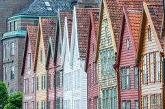 Hanseatic huizen Royalty-vrije Stock Afbeeldingen