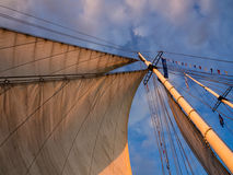 Hanseatic Sail Stock Image