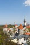 Hanseatic stad van Tallinn Royalty-vrije Stock Afbeelding