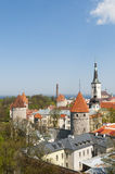 Hanseatic Stadt von Tallinn Lizenzfreies Stockbild