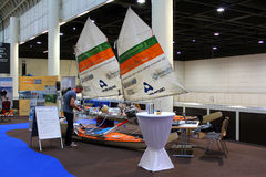 Hanseboot Expo on October 31, 2014 Royalty Free Stock Photo