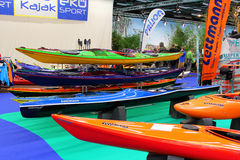 Hanseboot Expo on October 31, 2014 Royalty Free Stock Photos