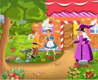Hansel et Gretel Photo stock