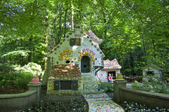 Hansel and Gretel. Ginger bread witch house Stock Image