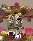 Hansel och Gretel Arkivbild