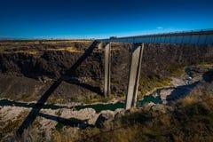 Hansen Bridge higway 50 Idaho Royalty Free Stock Photos
