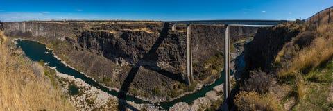 Hansen Bridge higway 50 Idaho Royalty Free Stock Photography