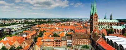 Hansestadt Lübeck Fotos de archivo libres de regalías
