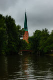 Hansestadt Lübeck is a north German port city, Royalty Free Stock Photos
