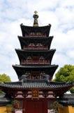 hanshan pagoda för porslin som puming det suzhou tempelet Royaltyfria Bilder