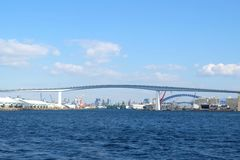 Hanshin express way bridge Stock Image