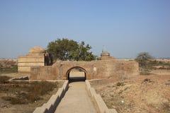 Hansi fort restoration Royalty Free Stock Image