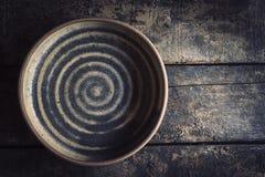 Hantverk gjord maträtt arkivfoton