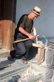 Hantverkare Toader Barsan Arkivfoto