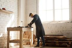 Hantverkareaffärstillfälle i träverkseminarium Royaltyfria Foton