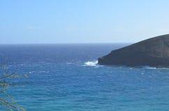 Hanuama fjärdoahu ö hawaii USA royaltyfria bilder