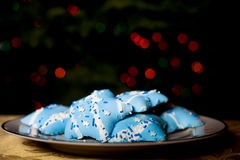 Hanukah Cookies Stock Images