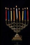 Hanukah Menorah Fotografía de archivo libre de regalías