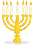 Hanukah Menorah Royalty Free Stock Photography