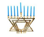 Hanukah Menorah - aislado foto de archivo libre de regalías