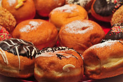 Hanukka Doughnuts Royalty Free Stock Images