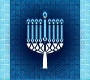 Hanukkah świeczki z wzorem  ilustracji