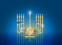 hanukkah ευτυχής Στοκ Εικόνα