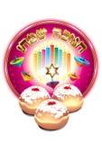 Hanukkah Fotografia Royalty Free