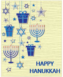 hanukkah royalty illustrazione gratis