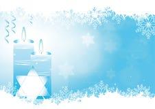 Hanukkah background Stock Image