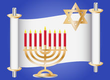 Hanukkah background Royalty Free Stock Image