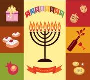 Hanukkah background Stock Photo
