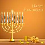 Hanukkah Background Stock Images