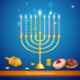 Hanukkah Background Royalty Free Stock Photos