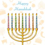 Hanukkah Background Stock Photos