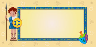 Hanukkah Banner Royalty Free Stock Photography