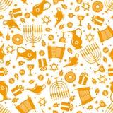 Hanukkah Bezszwowy wzór