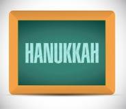 Hanukkah board sign message Stock Photos