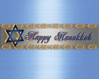 Hanukkah border royalty free stock photo