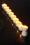 A hanukkah candelabrium Stock Images